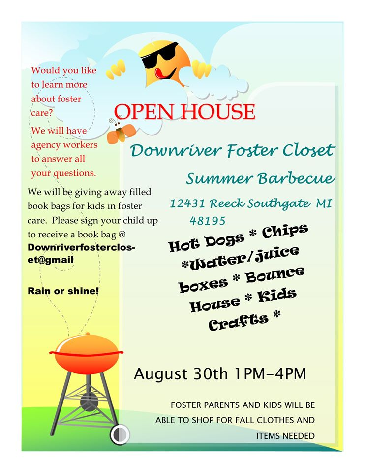open house flyer.